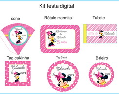 Kit Minnie Mouse Digital