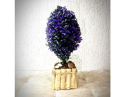 Bonsai Roxo (artificial)