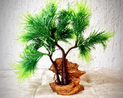 Bonsai Pinho Verde (artificial)