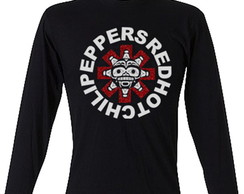 Camiseta Red Hot Chili Peppers Manga Lon