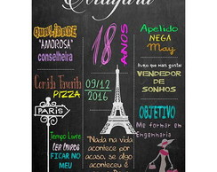 Chalkboard Paris