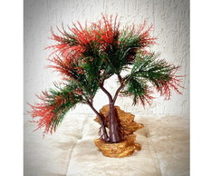 Bonsai Herbal Vermelho (artificial)