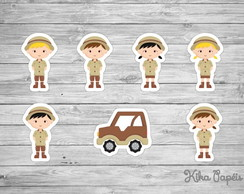Aplique Safari Kids 3,5 cm