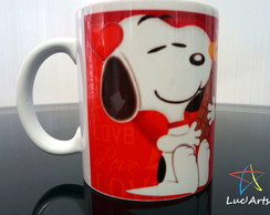 Caneca Snoopy Love Chocolate
