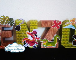 Letras 3D Peter Pan