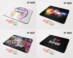Mouse Pad K pop I Love Kpop K-Pop Korean