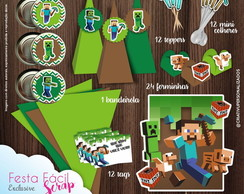 Festa Facil Scrap Minecraft
