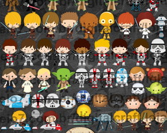 Scrapbook Digital - Star Wars cliparts