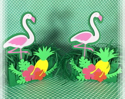 Flamingo Box Hibisco e Abacaxi
