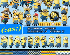 Kit Digital Scrapbook - Minions
