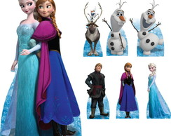 Kit Totem Display Festa Frozen