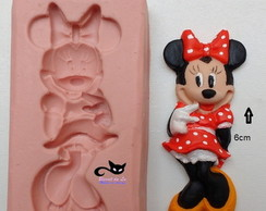 Molde Silicone Biscuit Minnie
