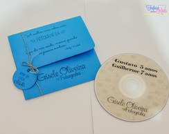 Envelope para CD/DVD + Tag