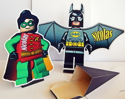 Centro de mesa Display Lego Batman 20cm