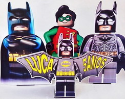 Centro de mesa Display Lego Batman 28cm