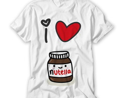 Camiseta Feminina I Love Nutella