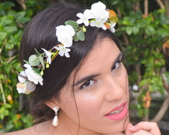 COROA DE FLORES PRETTY BRIDESMAID III