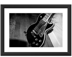 Quadro Guitarra Musica Rock Blues Arte