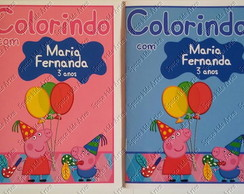 Kit Colorir com Massinha Peppa Pig