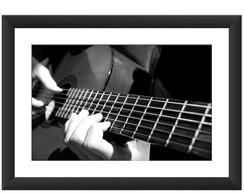 Quadro Violão Instrumento Preto Branco No Elo7 Luck