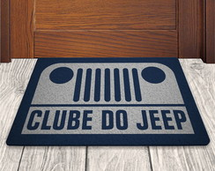 Clube do Jeep - Prata - 60x40cm