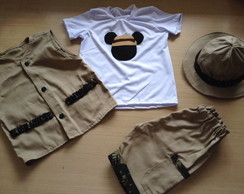 fantasia safari mickey militar