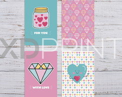 Quadro Decorativo -KIT LOVE Teen