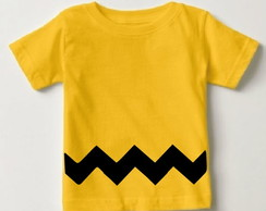 Camisetinha - Charlie Brown - Snoopy
