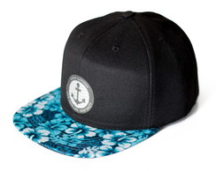 BONÉ SNAPBACK BLACKFLOWERS