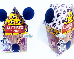 Caixa Milk casinha - Mickey Safari