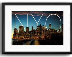 Quadro New York City com Paspatur