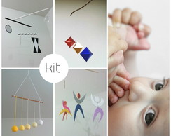Montessori Kit Móbiles Montessorianos