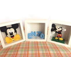 Trio Mini nichos - Mickey Mouse