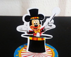 Aplique 3D - Circo do Mickey
