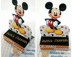 Porta Chocolate Duplo - Mickey