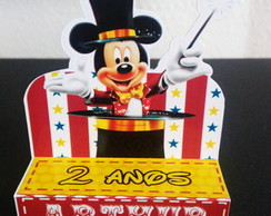 Porta Chocolate Duplo - Circo do Mickey