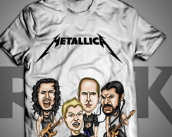 Metallica - camiseta Exclusiva