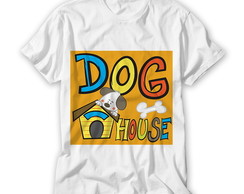 Camiseta Infantil Dog House