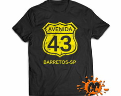 Camiseta Avenida 43 Barretos SP