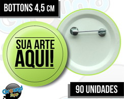 90 Bottons 4,5 Personalizados - Buttons