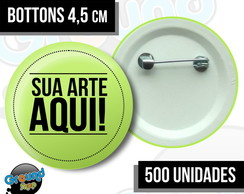 500 Bottons 4,5 Personalizados - Buttom