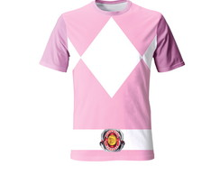 Camiseta Adulto do Power Rangers