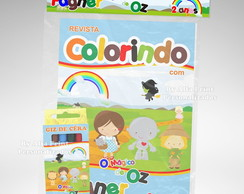 Kit Colorir O Mágico De Oz Cute+ Brindes