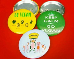 Button (broche): Vegan