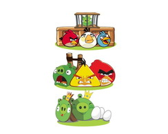 Kit Festa 3 Display Totem Angry Birds