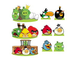 Kit Completo Totem Display Angry Birds