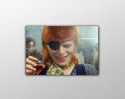 Placa Decorativa David Bowie - 20x30cm