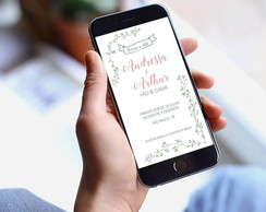 Save the Date Digital Casamento Allegro