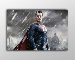 Painel Batman vs Superman- Lona 90x60cm