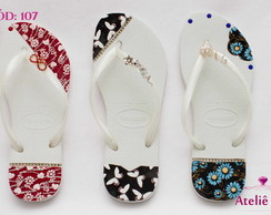 CHINELO HAVAIANAS SLIM CUSTOMIZADO
